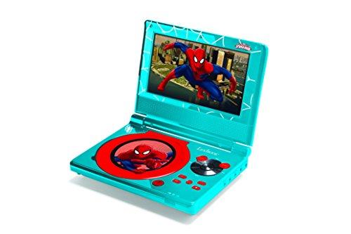 Lexibook Ultimate Spider-Man Portable Dvd Player, Blue