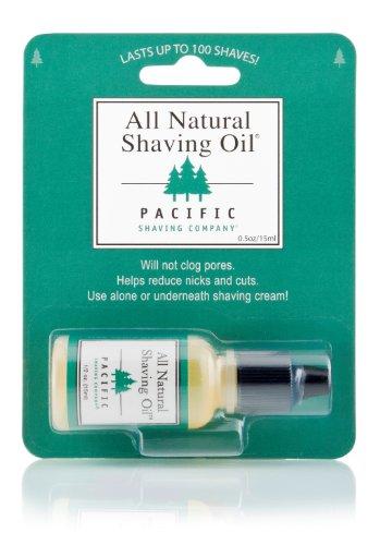 Pacific Shaving Company All Natural Shaving Oil - 0.5 oz (Pacific Shaving Company Oil compare prices)