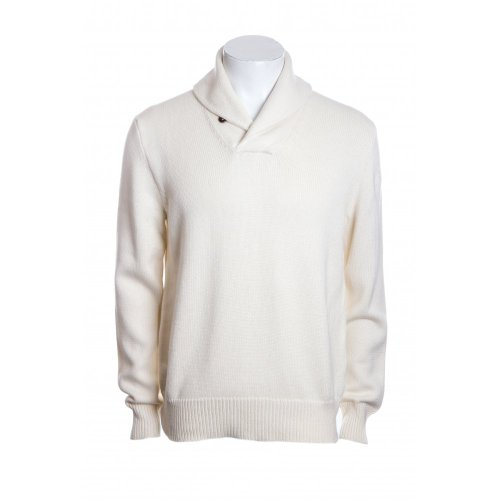 Polo Ralph Lauren mens long sleeve shawl collar jumper in sandtrap XL