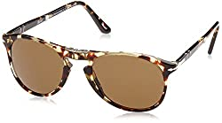 Persol Men 1503562005 Brown/Brown Sunglasses 52mm