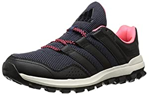 adidas Performance Women's Slingshot TR W Women's Running Shoe, Grey/Black/Pink, 8 M US