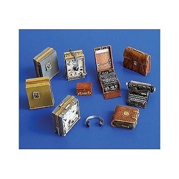 Kit radio allemand avec Enigma, 2ème GM