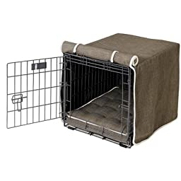 Luxury Dog Crate Cover Size: Large (25\