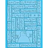 Provo Craft Cuttlebug A2 Embossing Folder, Sledding ~ Provo Craft