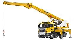 Bruder 3570 Scania R-Series Liebherr Crane Truck, Light and Sound Module
