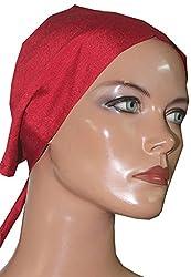 Apparelsonline 100% Silk UNDER SCARF BONNET CAP HIJAB BANDANA HAIR LOSS Chemo