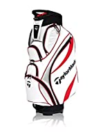 Taylor Made Bolsa de Golf Monaco Cart Bag Blanco / Rojo / Plata