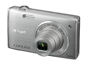 Nikon Coolpix S5200 Digitalkamera (16 Megapixel, 6-fach opt. Zoom, 7,6 cm (3 Zoll) LCD-Display, Bildstabilisator) silber