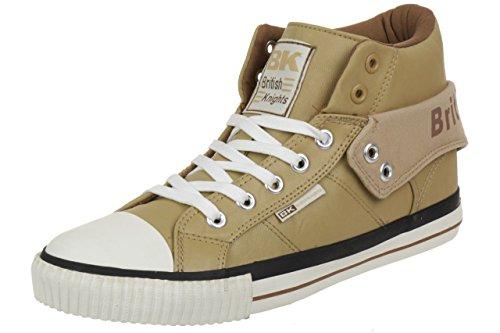 British Knights ROCO BK Herren Sneaker B34-3736-03 Hellbraun , Schuhgröße:EUR 43