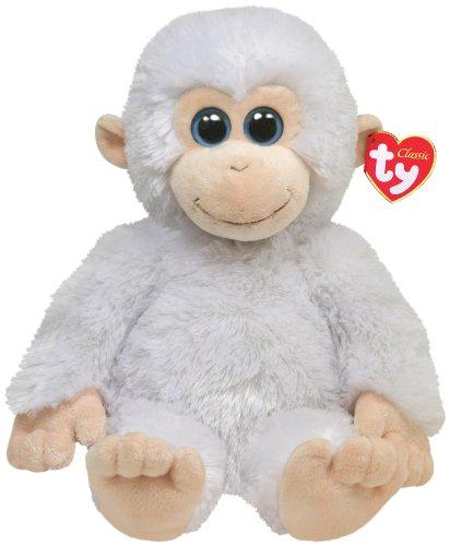 8af63eb92fa Ty Classic Plush Ivory - White Monkey