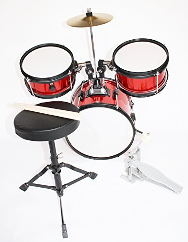 cherrystone-0754235504726-completa-bateria-para-ninos-junior-tambor-rojo-metalicos