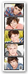 1d One Direction - Door Poster 21x62 Art Print Poster from Trends International