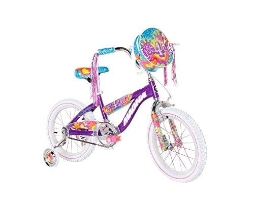 Dynacraft 8053-62ZTJ Girls Just for Me Magna Bike, Purple/Bl