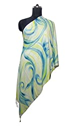 Anuze Fashions New Design Hand Printed Shawl For Women's And Girl's