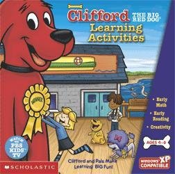 Clifford The Big Red Dog Learning Activities front-861237