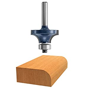 Bosch 85293M 3/16-Inch Roundover Router Bit 1/4-Inch Shank With Ball Bearing