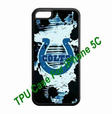 Christmas gifts iPhone 5C Covers Indianapolis Colts logo back hard case by hiphonecases at Amazon.com