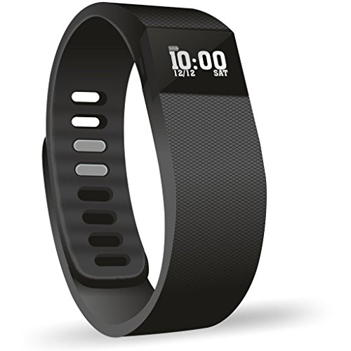 OPTA SW-006 Black Bluetooth Smart Band and fitness tracker for Android/IOS Mobile Phones compatible with Samsung IPhone HTC Moto Intex Vivo Mi One Plus and many others! Launch Offer!!