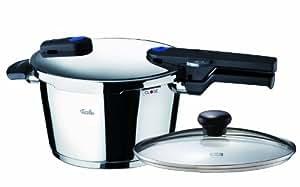 Fissler ビタクイック圧力鍋4.5Lガラス蓋付 600-300-04-093