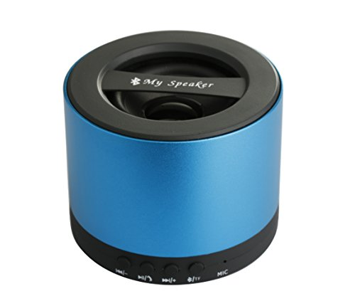 Brand New Portable Wireless Bluetooth Stereo Speaker Built In Hands Free Speakerphone And Rechargeable Battery, Clear And Crispy Sound Quality, Compatible With Apple Iphone Ipad Ipod,Mp3 Player,Tablet,Laptop,Computers And Any Bluetooth Enabled Device,Supp