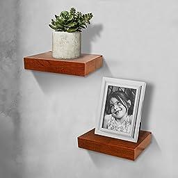 Shelving Solution Oak Color Wall Shelf (11\