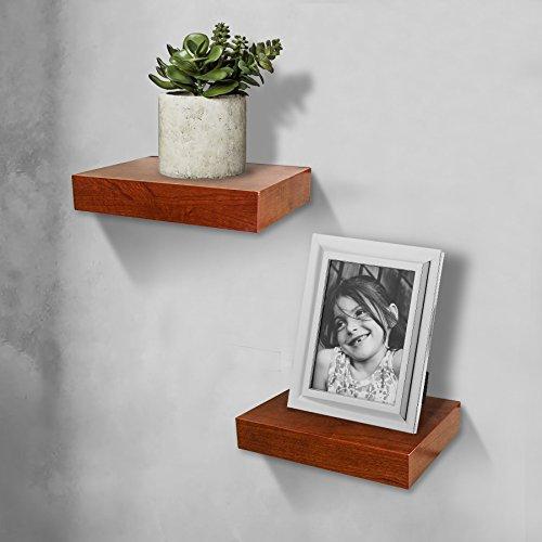 Shelving solution oak color wall shelf 11 home garden for Wall shelves and ledges