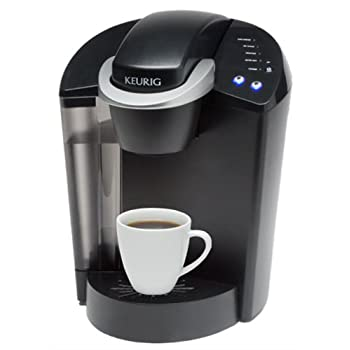 The Keurig B44 Single Cup Brewer is the mid-luxury home brewing system in the Keurig line, and offers a blend of styling and convenient features.  For coffee, tea, iced beverages and more it's easy to brew your perfect cup of coffee every time with K...