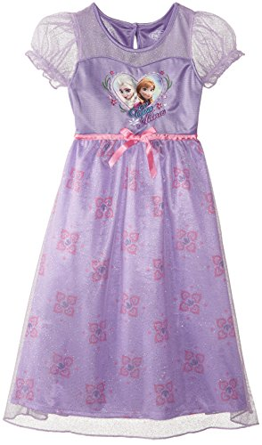 Disney Big Girls' FROZEN Sisters Dressy Gown