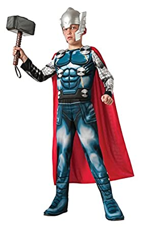 Child Thor Muscle Chest Costume Marvel Avengers Assemble 620022