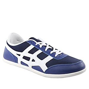 GlobaLite Men's Casual Shoes Wing Ace Navy White GSC1054