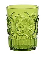 Sheratonn Set Vaso 6 Uds. Deco Verde