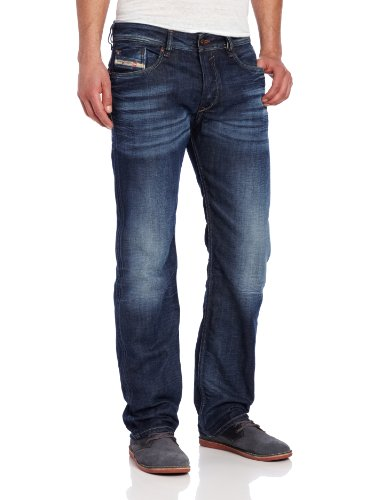 Diesel Men's Waykee Regular Straight Leg Jean 0806U by Diesel