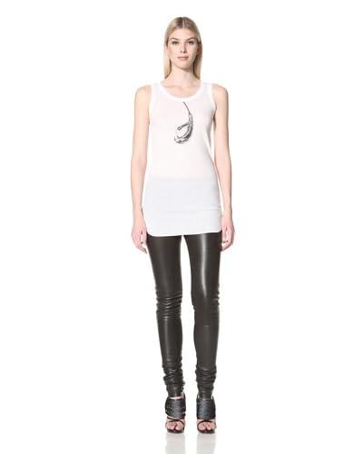 Ann Demeulemeester Women's Wish Claw Print Tank  - Off white