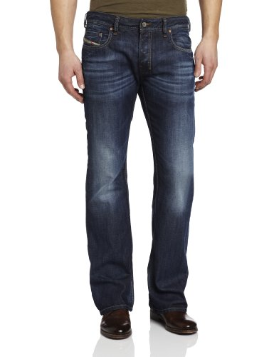 Diesel - Mens Zathan 0806U Denim Jeans, Size: 36W x 32L, Color: Denim