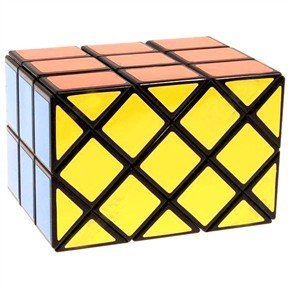 Diansheng 3x3 Ancient Double Fish Cube Black - 1