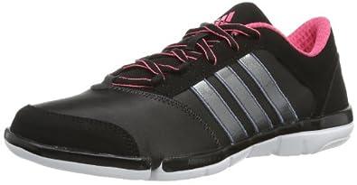 adidas Performance a.t. Mardea II D66317 Damen Hallenschuhe, Schwarz (Black 1 / Carbon Met. S14 / Bahia Pink S14), EU 38 2/3 (UK 5.5)