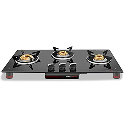 Vidiem Air Rosso Gas Cooktop (3 Burner)