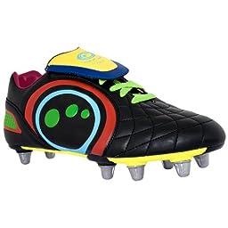 OPTIMUM Eclipse Junior Rugby Boots, Multi Coloured, US7