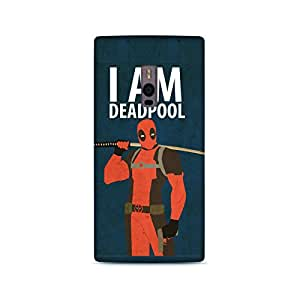 StyleO Oneplus Two Designer Printed Back Cover (Oneplus Two Back Cover) - Superhero Deadpool