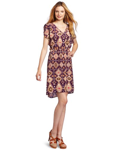 Ella Moss Women's Raven Short-Sleeve Dress