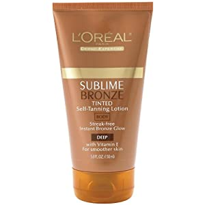 L'Oreal Sublime Bronze Self-Tanning Lotion 5 fl oz (150 ml)