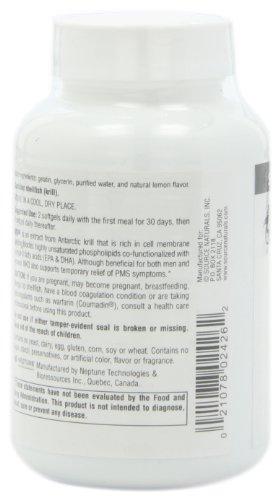 含丰富Omega-3,Source Naturals 海王星磷虾油 120粒图片