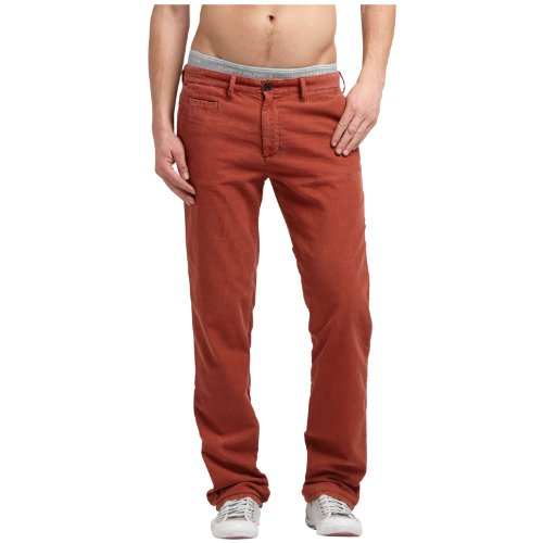 Hilfiger Denim Men's Sasha Fa12 Crd Gd / 1957818867 Trousers Red (206 Burnt Russet) 33/34