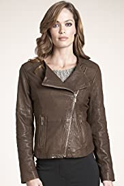 Autograph Weekend Leather Biker Jacket