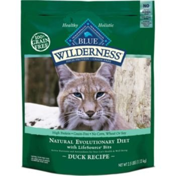 Detail image Blue Buffalo Wilderness Grain Free Dry Cat Food, Duck Recipe, 5-Pound Bag