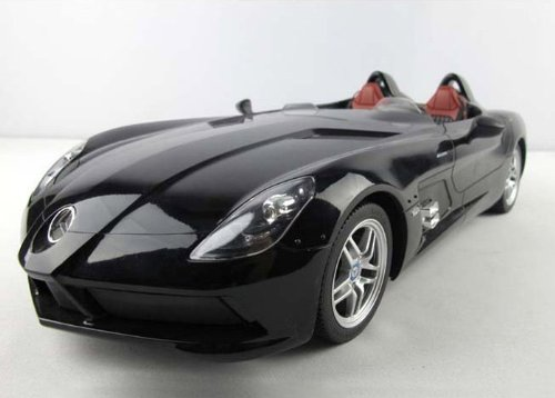 Benz SLR Mclaren 1:12 Remote Control Car 1:12 Model Car Toy-black Ships By Expedite