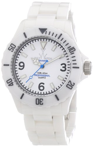 Toy Watch Cm01wh- White Dial Ceramic Case
