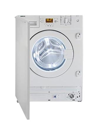 Beko WMI 71241 machine à laver - machines à laver (Intégré, Charge avant, B, Blanc, LCD, Droite)