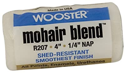 Wooster Brush Mohair Blend Roller Cover 1/4-Inch Nap