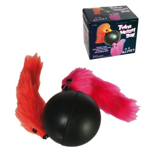 Fun Toy TWINS WEAZEL BALL - das Original!